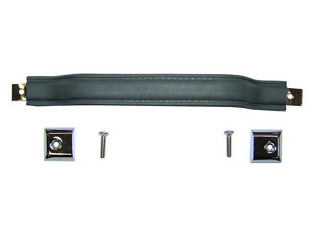 Steinjager Door Replacement Parts Door Pull Handle Black (76-86 Jeep CJ5 and CJ5; 87-95 Jeep Wrangler YJ)
