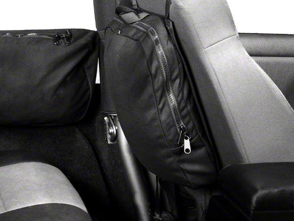 Rugged Ridge 13551.25 Detachable Seat Back Trail Bag
