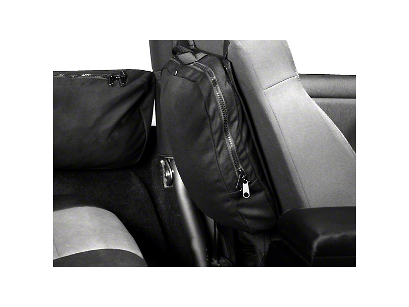 Rugged Ridge Seat Back Trail Bag (87-18 Wrangler YJ, TJ & JK)