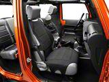 Rugged Ridge Neoprene Front Seat Protectors - Black (07-20 Jeep Wrangler JK & JL)