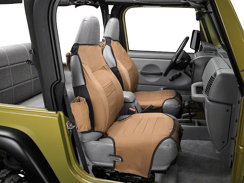 Rugged Ridge Seat Protectors - Spice (87-06 Jeep Wrangler YJ & TJ)
