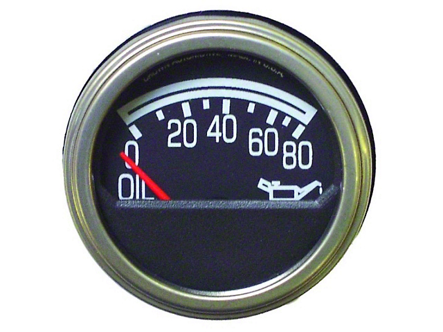 Steinjager Dash Replacement Parts Gauges Oil Pressure (76-86 Jeep CJ5 and CJ7)