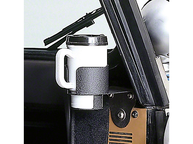 Steinjager Dash Replacement Parts Windshield Mount Cup Holder (87-95 Jeep Wrangler YJ)