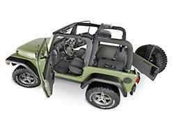 BedRug BedTred Cargo Floor Mat (18-21 Jeep Wrangler JL 2-Door, Excluding 4xe)