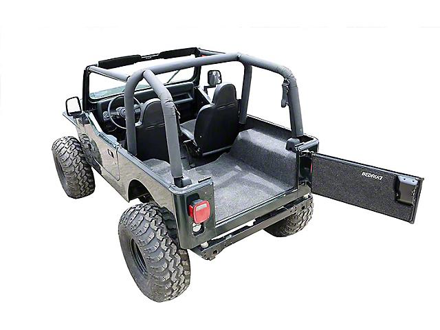 BedRug Carpet Cargo Liner with Gussets (76-80 Jeep CJ7)