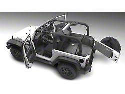 BedRug Carpet Cargo Mat with Gap Hider (18-21 Jeep Wrangler JL 4-Door, Excluding 4xe)