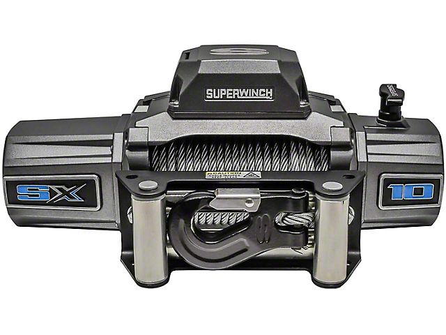 Superwinch 10,000 lb. SX 10000 Winch with Steel Cable