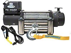 Superwinch 11,500 lb. Tiger Shark 11500 Winch with Steel Cable (Universal; Some Adaptation May Be Required)