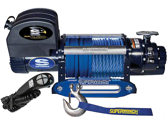 Superwinch 12,500 lb. Talon 12.5SR Winch with Synthetic Rope