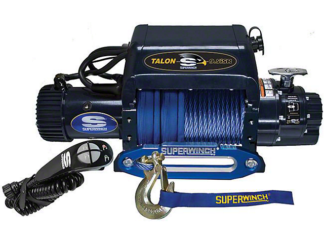 Superwinch 9,500 lb. Talon 9.5iSR Winch with Synthetic Rope