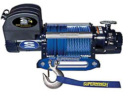Superwinch 9,500 lb. Talon 9.5SR Winch with Synthetic Rope (Universal; Some Adaptation May Be Required)