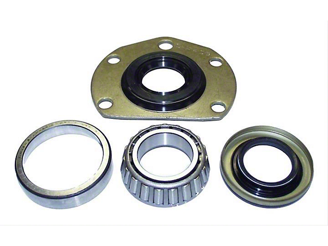 Drive Axle Shaft Bearing and Seal Kit; Left or Right Rear (76-86 Jeep CJ5 & CJ7)