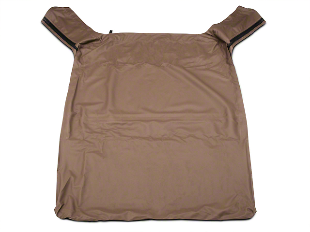 Bestop Soft Top Replace-A-Top w/ Tinted Windows - Dark Tan (97-02 Jeep Wrangler TJ w/ Full Steel Doors)