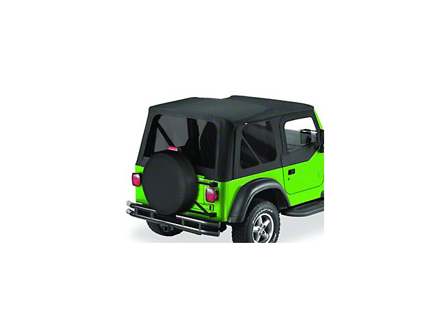 Bestop Replace-A-Top w/ Tinted Windows - Black Diamond (03-06 Jeep Wrangler TJ w/ Half Steel Door)