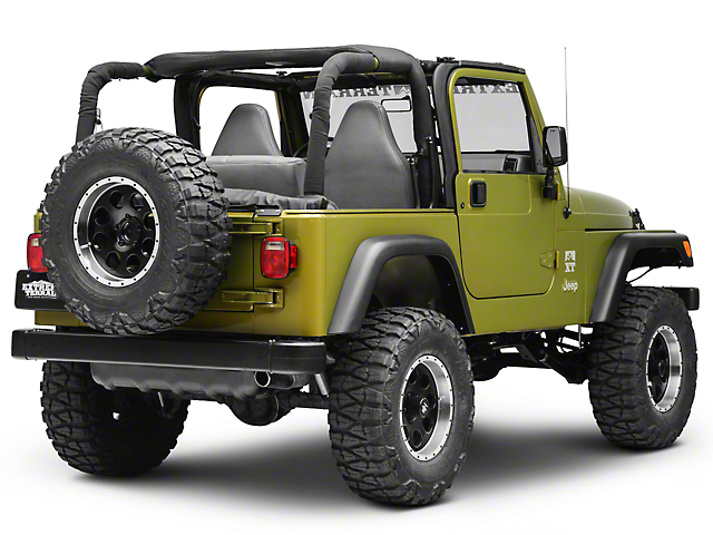 Jeep Wrangler Soft Top >> Smittybilt Jeep Wrangler Soft Top Storage Boot 600015 97 06 Jeep