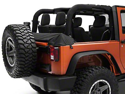 Smittybilt Soft Top Storage Boot (07-18 Wrangler JK 2 Door)