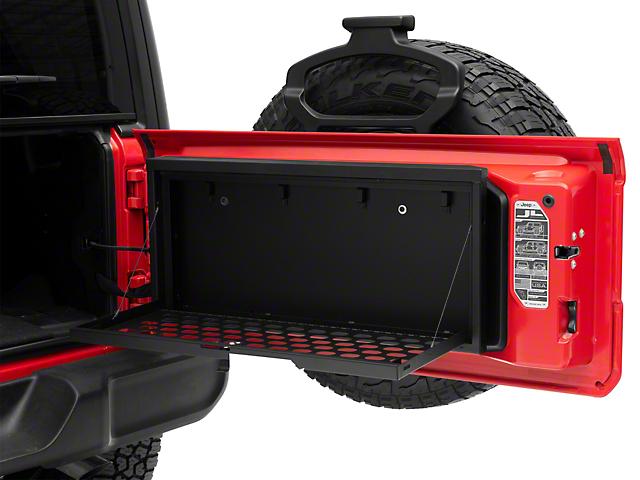 Tuffy Tailgate Lockbox MOLLE Storage (18-21 Jeep Wrangler JL)