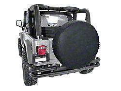 Rugged Ridge Spare Tire Cover for 30-32 in. Tire - Black (87-19 Jeep Wrangler YJ, TJ, JK & JL)