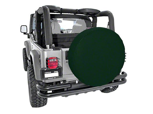 Rugged Ridge Spare Tire Cover for 30-32 in. Tire - Khaki Diamond (87-20 Jeep Wrangler YJ, TJ, JK & JL)