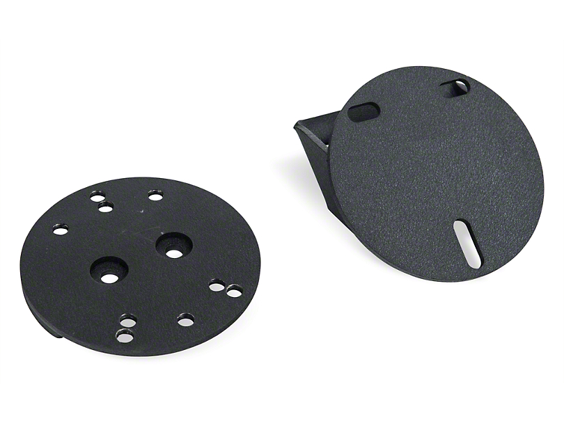 Rugged Ridge Spare Tire Spacer - Textured Black (87-18 Jeep Wrangler YJ, TJ & JK)
