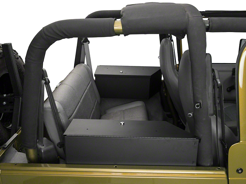 Tuffy Jeep Wrangler Speaker Amp Storage Security Lock Box