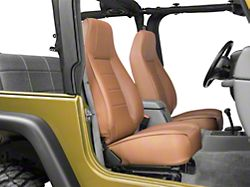 Smittybilt Factory Style Recliner; Spice Denim (87-02 Jeep Wrangler YJ & TJ)