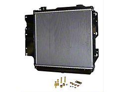Radiator; 18.5 x 22-Inch Core; 2 Row; Left Hand Drive (87-06 Jeep Wrangler)