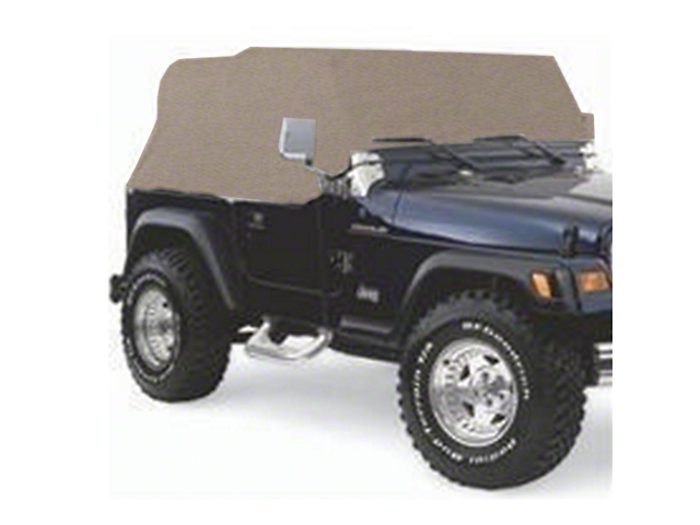 Smittybilt Water Resistant Cab Cover with Door Flaps; Spice (92-06 Jeep Wrangler YJ & TJ)