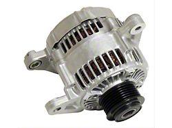 Alternator; 124 Amp (03-06 2.4L Jeep Wrangler)