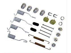 Drum Brake Shoe and Drum Kit; Front and Rear (90-05 Jeep Wrangler)