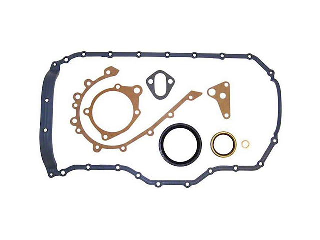 Engine Conversion Gasket Set; Lower; with 1-Piece Oil Pan Gasket (92-02 2.5L Jeep Wrangler)