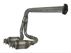 Exhaust Pipe; Front; Includes 2 Catalytic Converters (00-02 4.0L Jeep Wrangler)