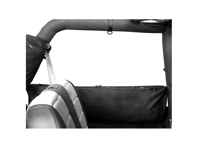 Rugged Ridge Sports Bar Trail Bag - Canvas Storage Bag (92-06 Jeep Wrangler YJ & TJ, 07-18 JK 2 Door)