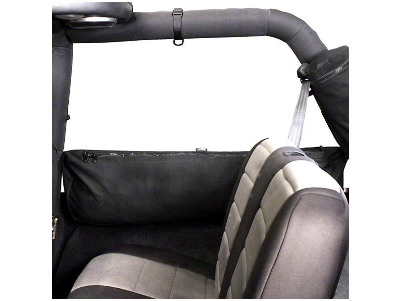 Rugged Ridge Sport Bar Mounted Trail Bag - Canvas Storage Bag (04-06 Jeep Wrangler TJ Unlimited)