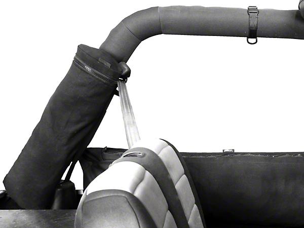 Rugged Ridge Sport Bar Mounted Trail Bag - Canvas Storage Cylinder