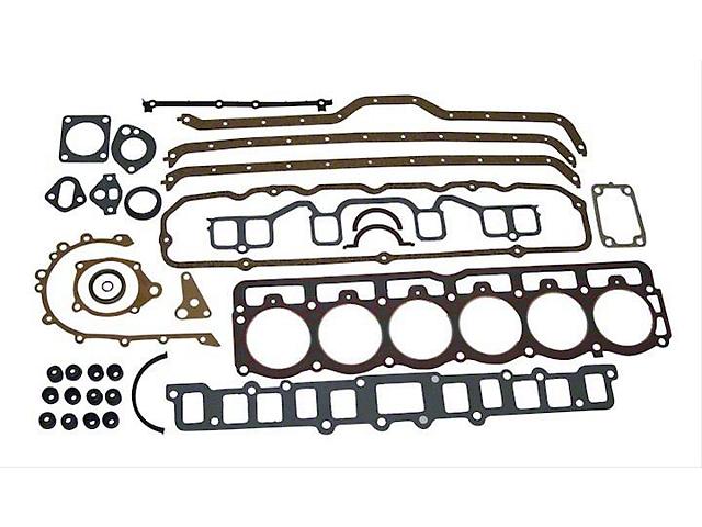 Engine Overhaul Gasket Kit; 4.2L (87-90 4.2L Jeep Wrangler)