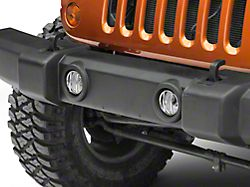 Rugged Ridge Stainless Steel Euro Guard Fog Light Covers - Pair (07-18 Jeep Wrangler JK)