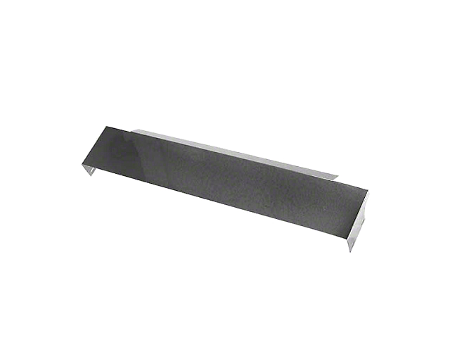Rugged Ridge Front Frame Cover; Stainless Steel (87-95 Jeep Wrangler YJ)
