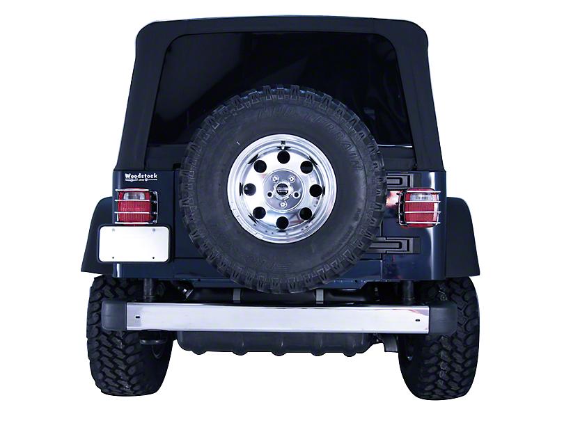 Rugged Ridge Rear Bumper - Stainless Steel (97-06 Jeep Wrangler TJ)