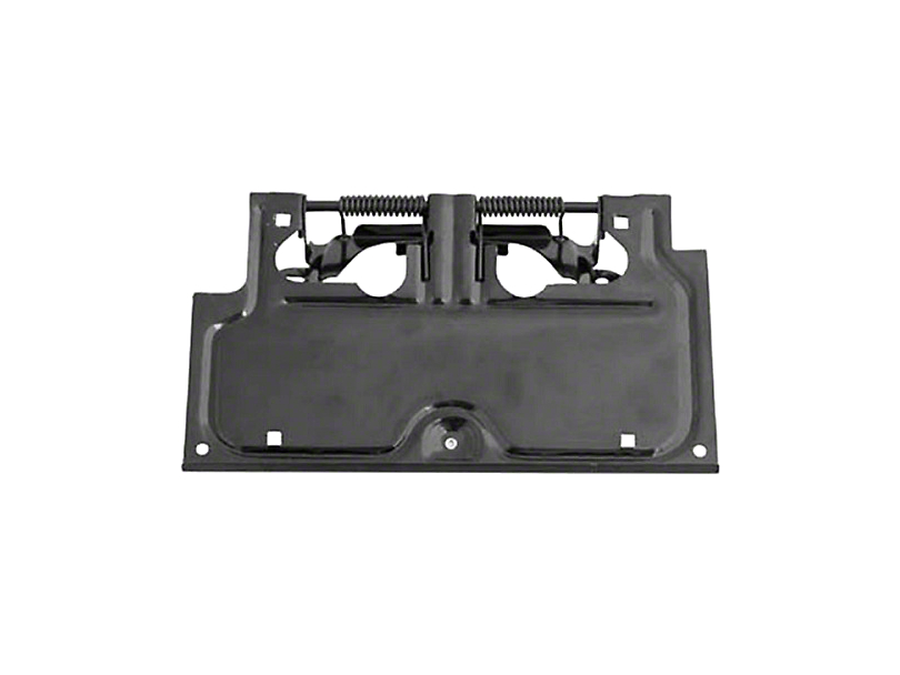 Rugged Ridge License Plate Bracket - Black (87-95 Jeep Wrangler YJ)