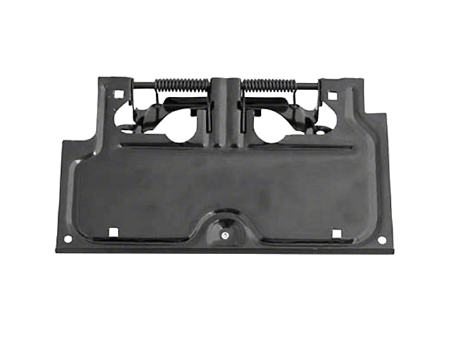 Rugged Ridge License Plate Bracket; Black (87-95 Jeep Wrangler YJ)