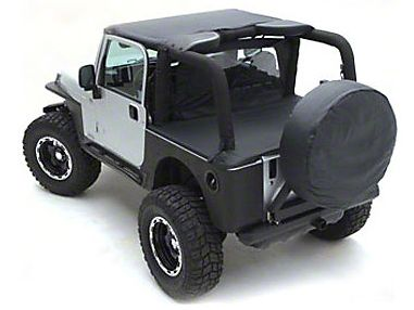 Smittybilt Standard Top - Black Denim (97-06 Jeep Wrangler TJ)