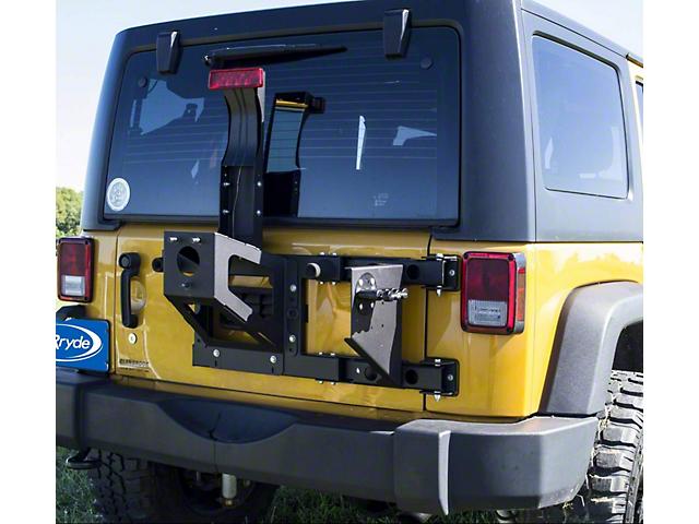 MORryde 3-Piece Tailgate Reinforcement Kit (07-18 Jeep Wrangler JK)