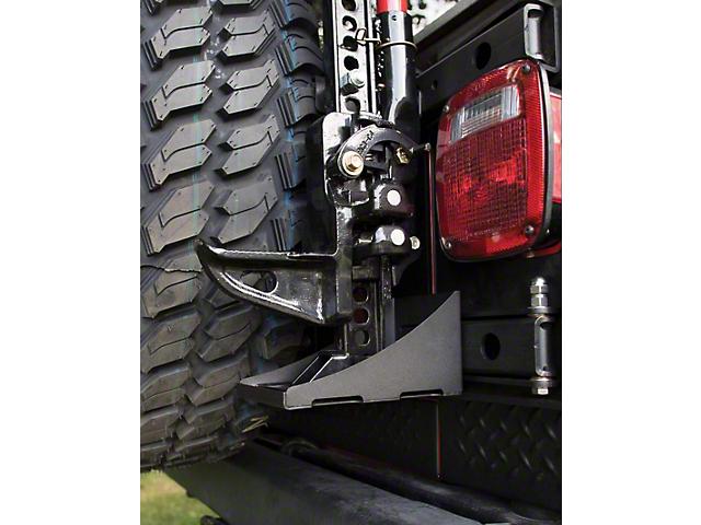 MORryde Hi-Lift Jack Carrier for JP54-025 TJ Hinge (97-06 Jeep Wrangler TJ)