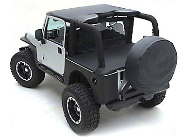 Smittybilt Standard Top - Black Denim (97-06 Jeep Wrangler TJ)