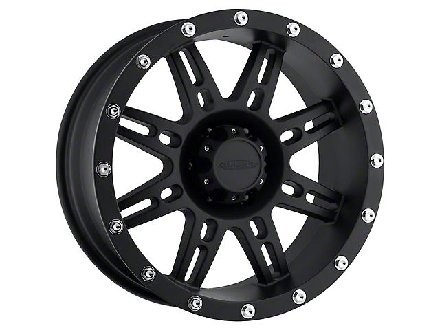 Pro Comp Series 7031 Flat Black Wheel; 17x9 (76-86 Jeep CJ5 & CJ7)