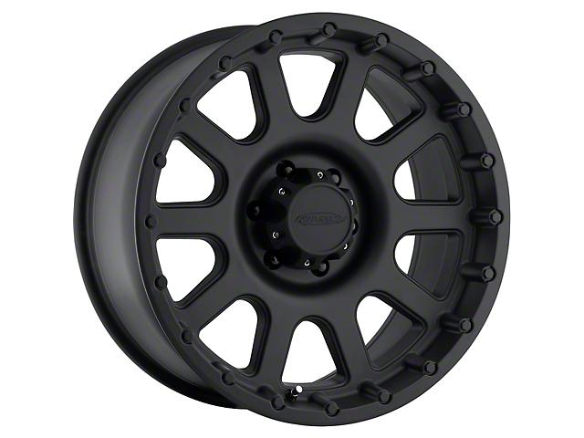 Pro Comp Series 7032 Flat Black Wheel; 17x9 (76-86 Jeep CJ5 & CJ7)