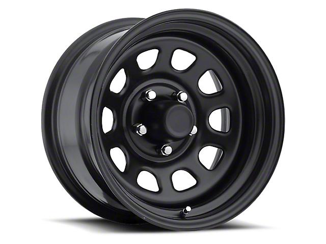 Pro Comp Series 51 Flat Black Wheel; 15x8 (76-86 Jeep CJ5 & CJ7)