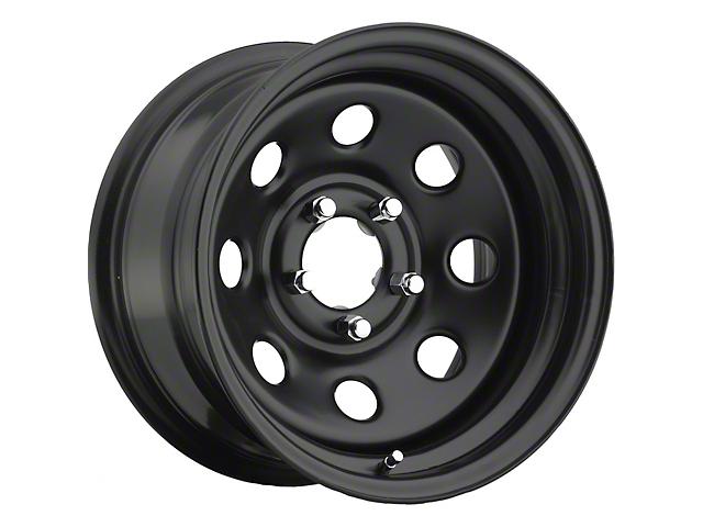 Pro Comp Series 97 Flat Black Wheel; 15x8 (76-86 Jeep CJ5 & CJ7)