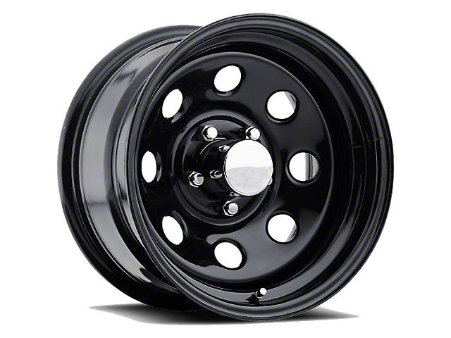 Pro Comp Series 97 Gloss Black Wheel; 15x8 (76-86 Jeep CJ5 & CJ7)